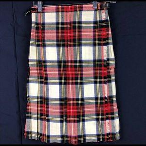 Dresses & Skirts - Authentic Tartan Plaid wool Scottish kilt skirt